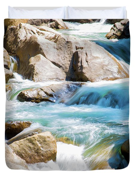 Mountain Spring Water Duvet Cover