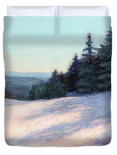 Mountain Stillness Duvet Cover