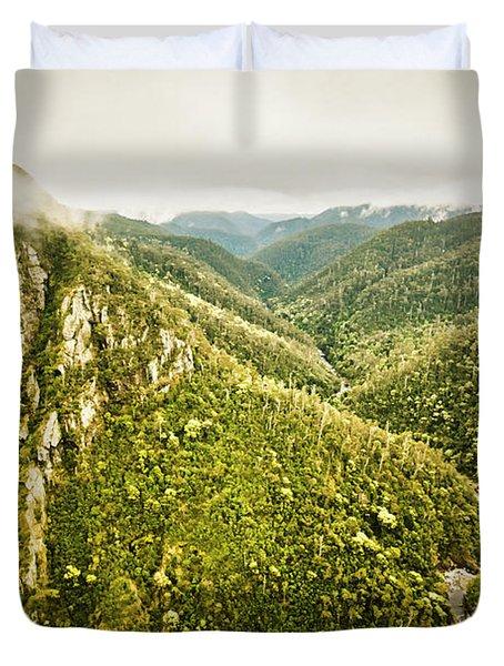 Mountain Streams Duvet Cover