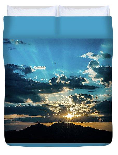 Mountain Sunrise Duvet Cover