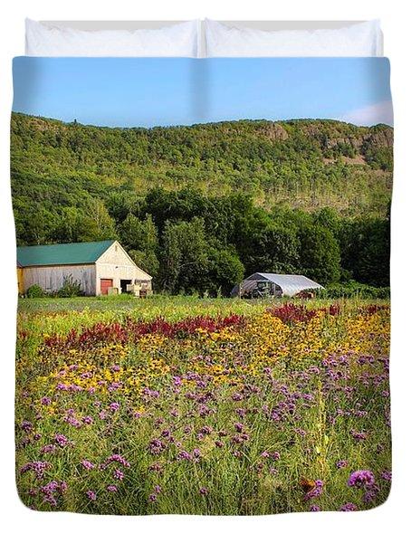 Mountain View Farm Easthampton Duvet Cover