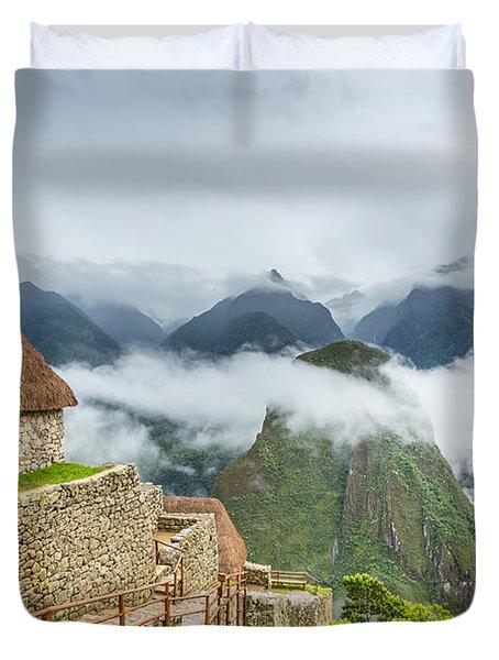 Mountain View. Duvet Cover