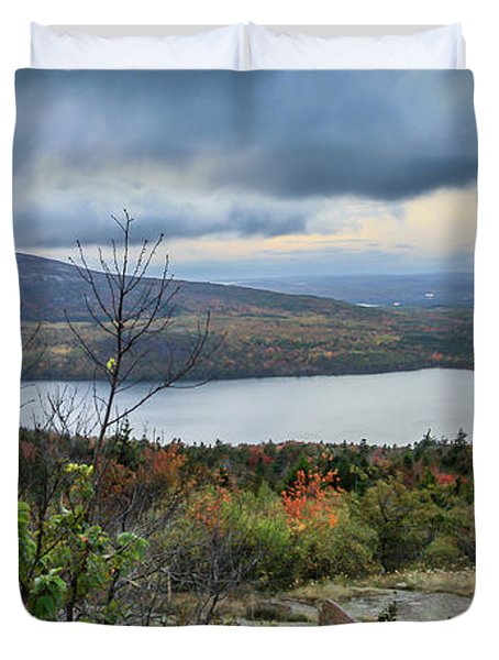 Mountain View Duvet Cover by Jane Luxton