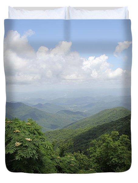 Mountain Vista Duvet Cover