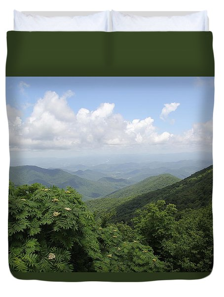 Mountain Vista Duvet Cover