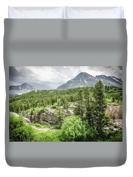 Mountain Vistas Duvet Cover