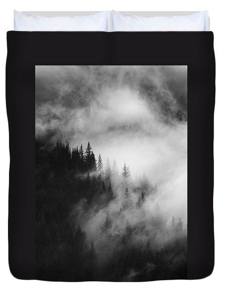 Mountain Whispers Duvet Cover