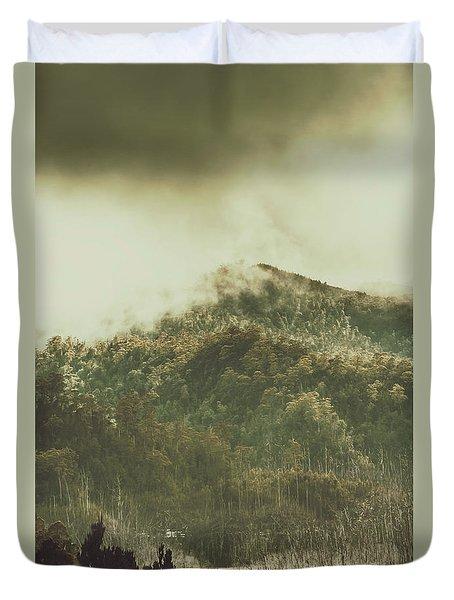 Mountain Wilderness Duvet Cover