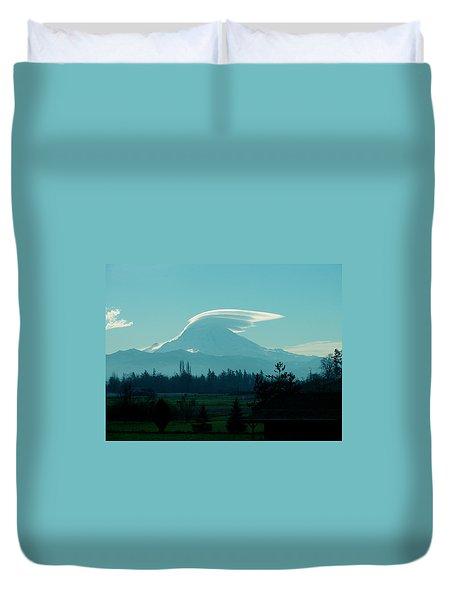 Mountain Wings Duvet Cover