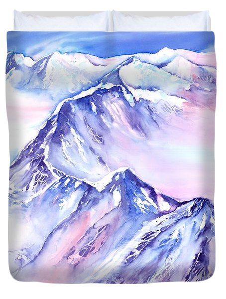 Mountains - Above The Clouds No. 1 Duvet Cover