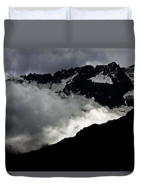 Mountains Clouds 9950 Duvet Cover