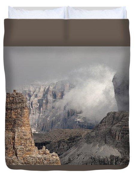 Mountains Depth 1150 Duvet Cover