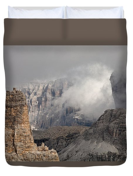 Mountains Depth 1150 Duvet Cover