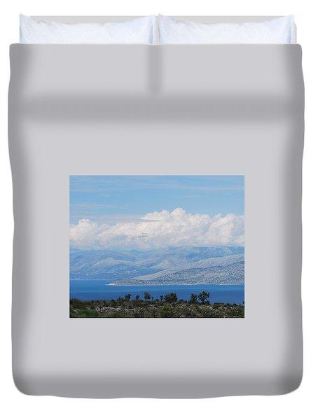 Mountains Far Away  3 Duvet Cover