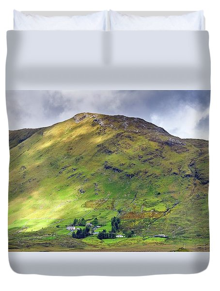 Mountains Of Ireland Duvet Cover