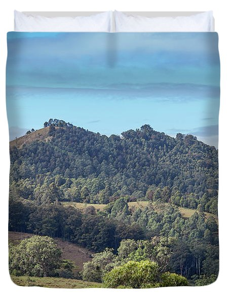 Mountains Of The Hunter Duvet Cover