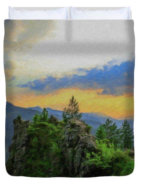 Mountains Tatry National Park - Pol1003778 Duvet Cover