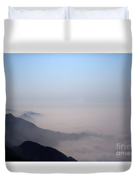 Mountaintop Vision Duvet Cover