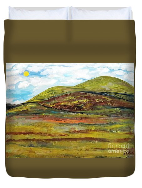 Mountaiscape 2  Duvet Cover