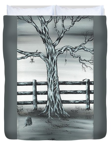 Mouse House Duvet Cover
