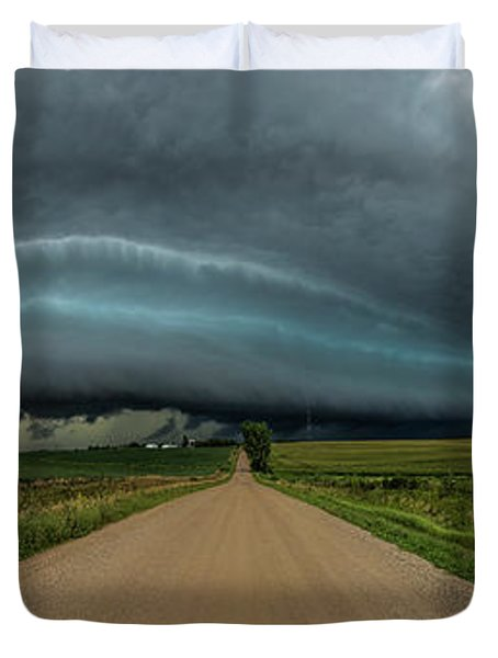 Mouth Of The Beast  Duvet Cover