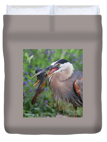 Mouthfull Duvet Cover