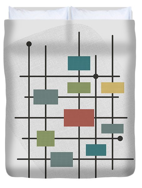 Movement - 1 Duvet Cover by Finlay McNevin