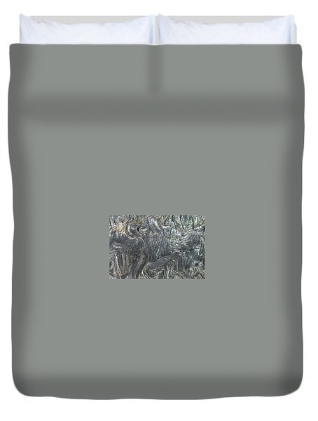 Movement In The Earth Duvet Cover
