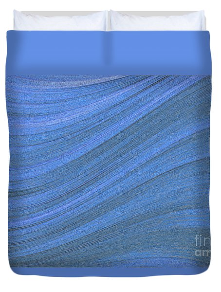 Movement In Waves Duvet Cover