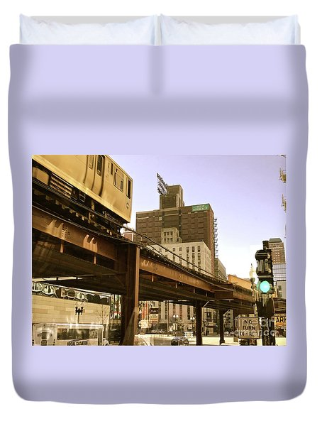 Moving Boxes Too Duvet Cover by Trish Hale