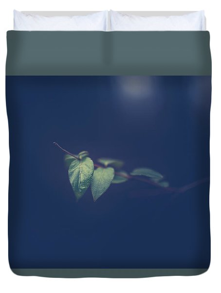 Duvet Cover featuring the photograph Moving In The Shadows by Shane Holsclaw