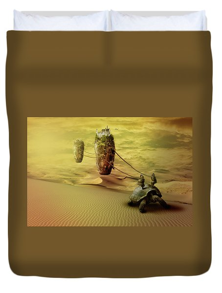 Moving On Duvet Cover by Nathan Wright
