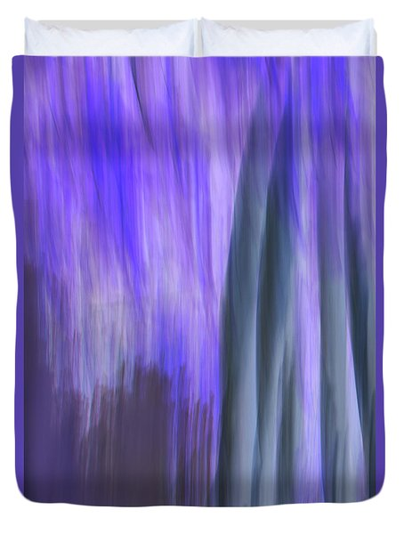 Moving Trees 37-36 Portrait Format Duvet Cover