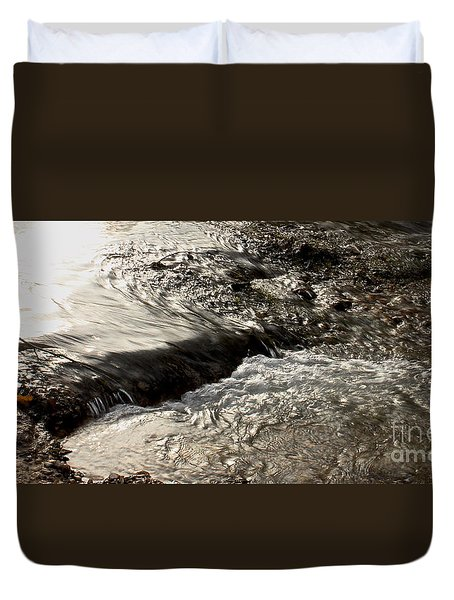 Moving Water Duvet Cover