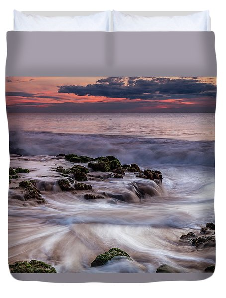Moving Waters Duvet Cover