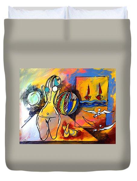 Mr Ameeba 6 Duvet Cover