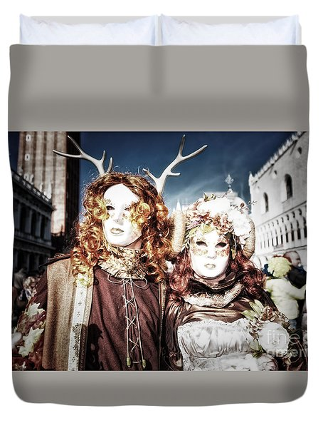 Mr And Mrs Deer Bypass Duvet Cover