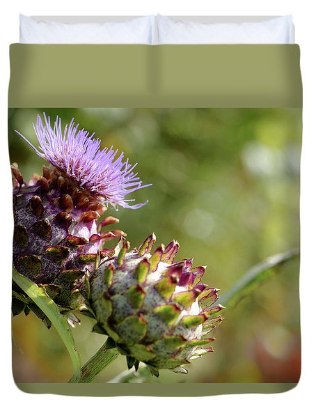 Mr And Mrs Thistle  Duvet Cover