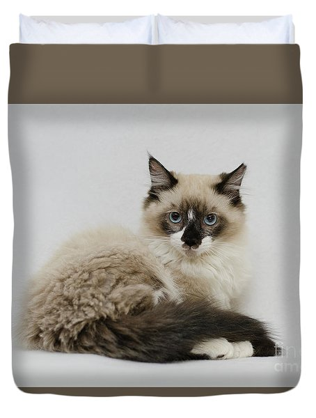 Mr. Atkin Duvet Cover