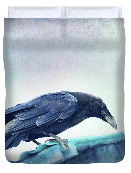 Mr. Bluebird Duvet Cover