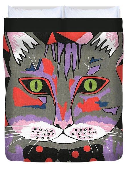 Mr Cat Duvet Cover