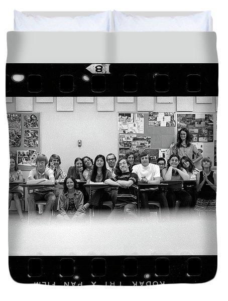 Mr. Clay's Ap English Class Duvet Cover