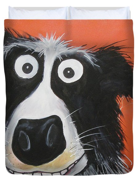 Mr Dog Duvet Cover