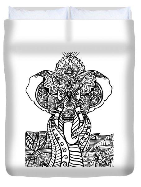 Mr. Elephante Duvet Cover