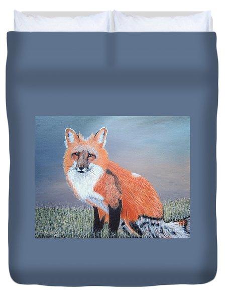Mr. Fox Duvet Cover