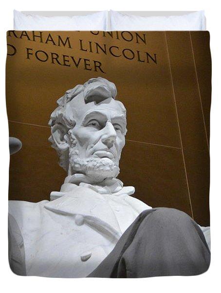 Mr. Lincoln Duvet Cover