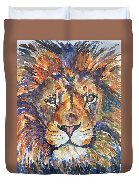 Mr Majestic Duvet Cover by P Maure Bausch