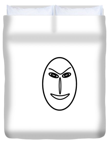Mr Mf Is A Friendly Asian Duvet Cover