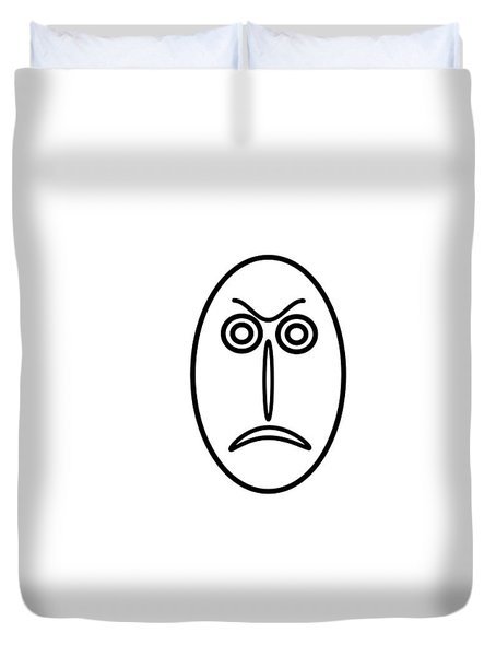 Mr Mf Is Angry Duvet Cover