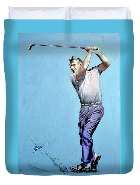 Mr Palmer Duvet Cover by Mark Robinson